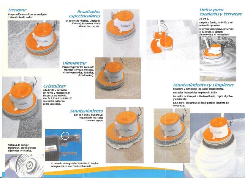 Supralux pulido abrillantado y limpieza de suelos - Productos para pulir marmol ...